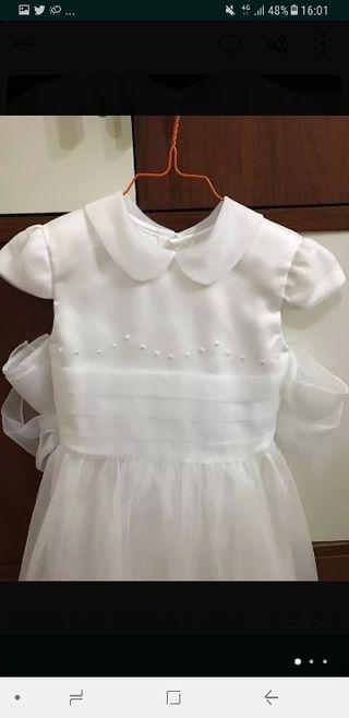 vestido comunión + complementos