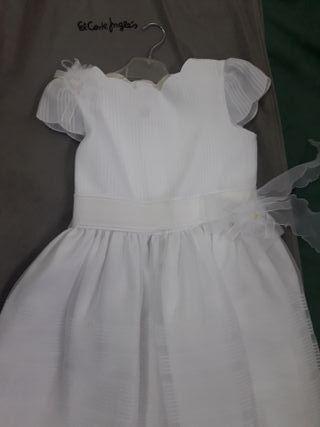 vestido de comunion niña