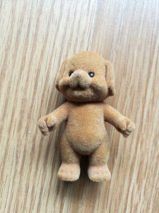 figura oso de terciopelo