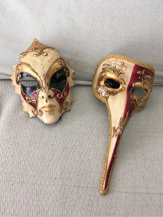 Máscara veneciana italiana