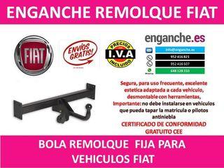 ENGANCHE FIAT BOLA REMOLQUE