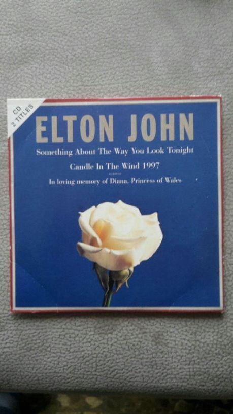 Cd Elton John - Lady Di