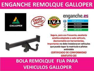 ENGANCHE GALLOPER BOLA REMOLQUE