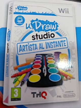 udraw game tablet wii