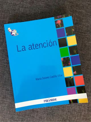 LA ATENCIÓN libro Psicología