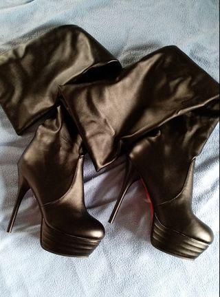botas nuevas sin usar