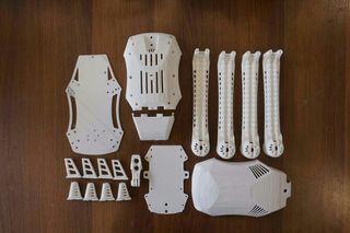 piezas para drone