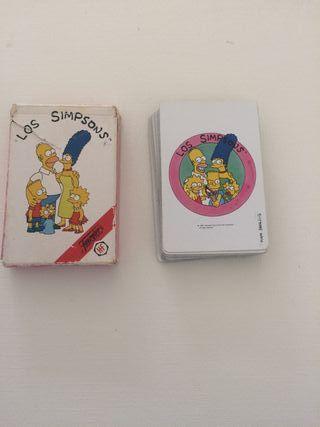 Baraja cartas de Los Simpsons