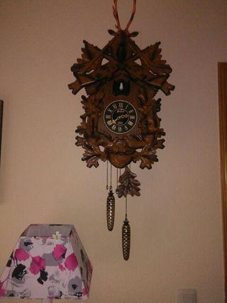 reloj de pared cuco