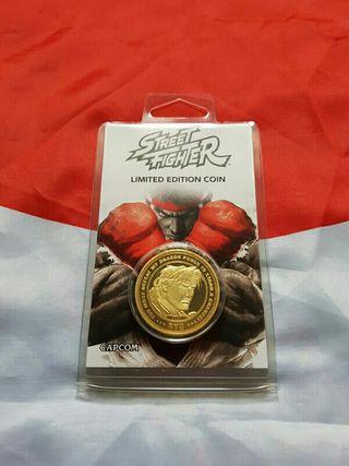 Moneda de Oro Street Fighter N.0430