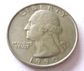 Quarter Dollar United States of America año 1990