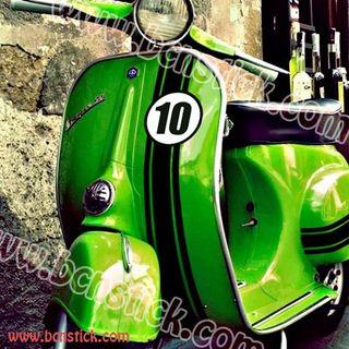 Kit de pegatinas moto scooter