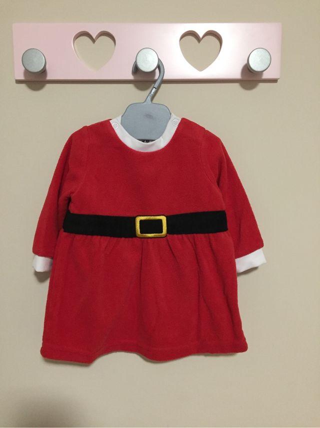 Vestido Bebe Papa Noel De Segunda Mano Por 5 En Granada En Wallapop - Bebes-vestidos-de-papa-noel