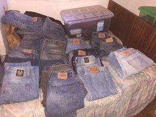 50 € TODOS!! Lote de pantalones vaqueros