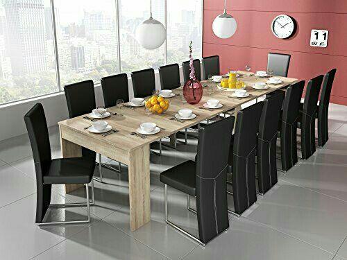 Mesa de comedor consola extensible hasta 301 cm, de segunda mano por ...