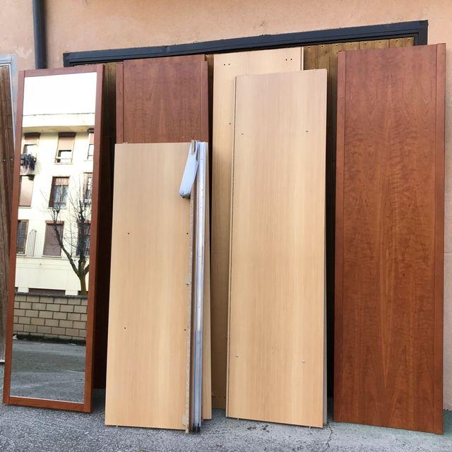 Armario ropero con puertas correderas de segunda mano for Armario puertas correderas segunda mano
