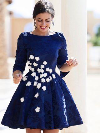 Vestidos de fiesta de silvia navarro 202019