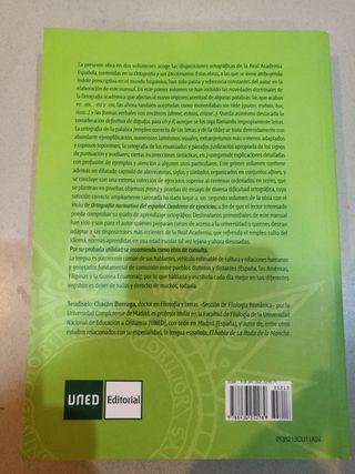 Ortografía normativa del español UNED