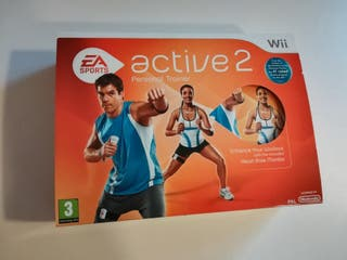 Juego wii Active 2 Personal Trainer EA Sports