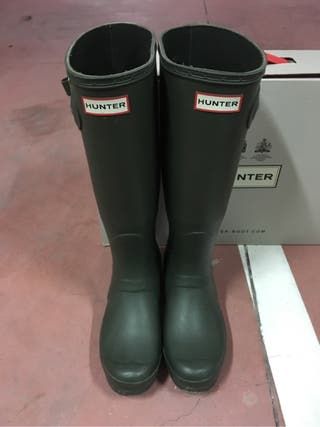 Botas hunter verde originales