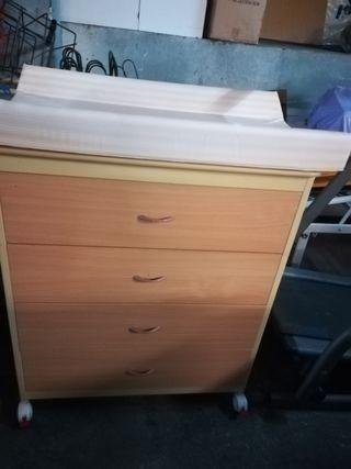 Mueble cabiador / comoda