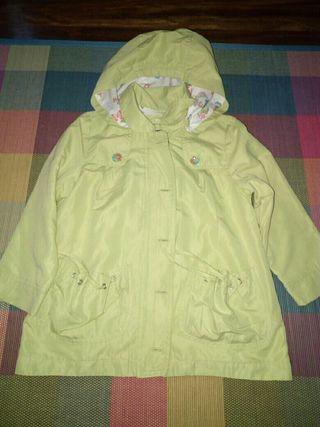 chaqueta de entretiempo talla 5-6