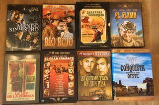 Colección Western: 23 DVD 15€