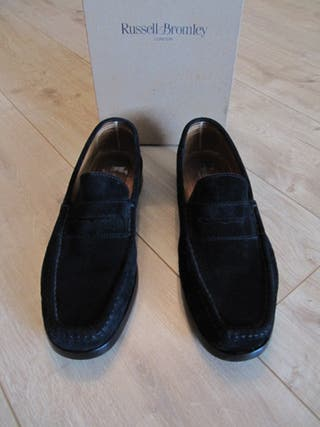 Russell & Bromley Mens Suede Loafers