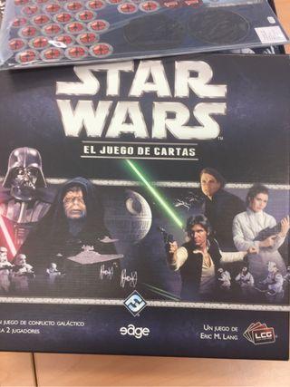 STAR WARS JUEGO DE CARTAS