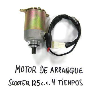 MOTOR ARRANQUE SCOOTER 125CC 4 TIEMPOS