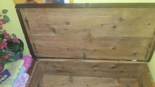Baúl arcon madera maciza