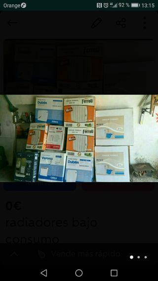 Radiadores bajo consumo de segunda mano en la torre de for Radiadores bajo consumo