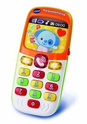 telefono infantil bilingüe vrech pequephone