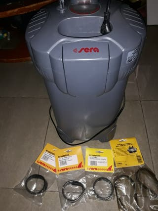 Bomba profesional será 400 + uv + accesorios + jun