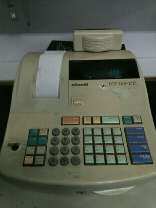 Caja registradora Olivetti ECR 300 ev