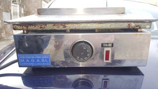 Plancha eléctrica de cocina