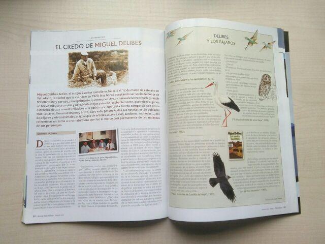Libro revista aves y naturaleza. 3.