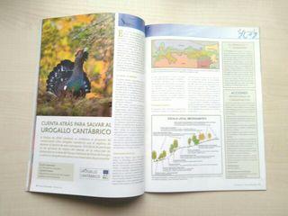 Libro revista aves y naturaleza. 10.