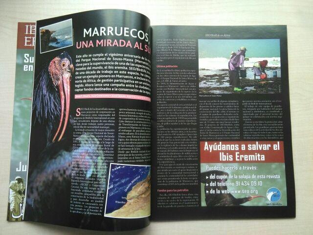 Libro revista aves y naturaleza. 6.
