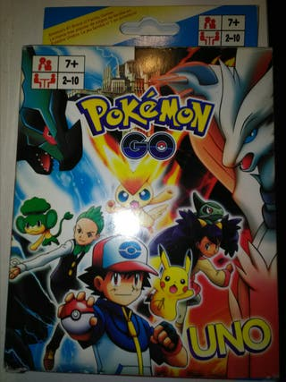 Juego Uno Pokemon