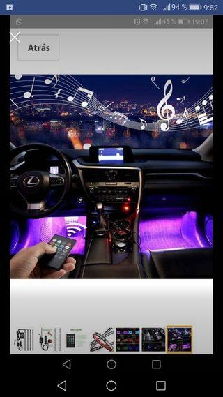 Luces para el interior del coche