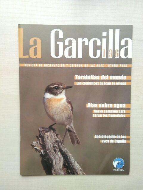 Libro revista la Garcilla. 136.