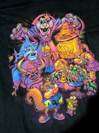 Camiseta Conker's Bad Fur Day Retro