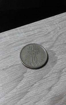 moneda de 10,00 escudos.