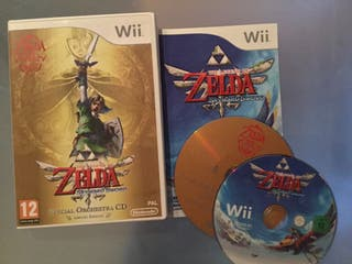 The Legend of Zelda Skyward Sword para Wii