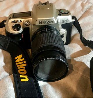 Camara de fotos reflex nikon