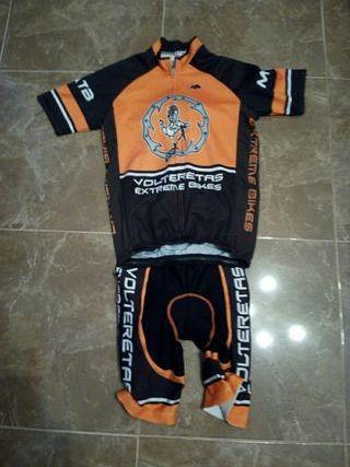 conjunto maillot bicicleta mhu