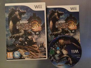 Monster Hunter 3 para Wii