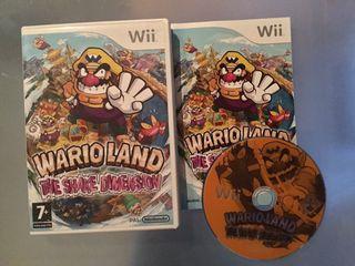 Wario Land Shake Dimension para Wii