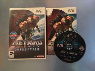 Metroid Prime 3 Corruption para Wii